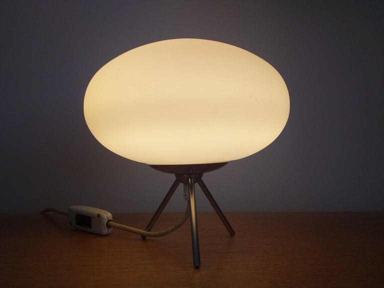 Midcentury Space Age Table Lamp, Italy, 1980s For Sale 2