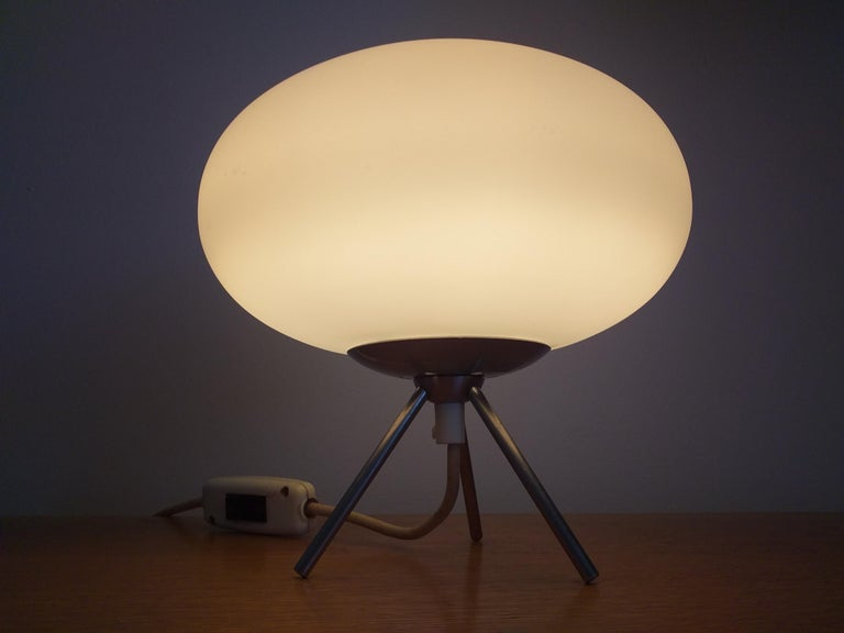 Midcentury Space Age Table Lamp, Italy, 1980s For Sale 3