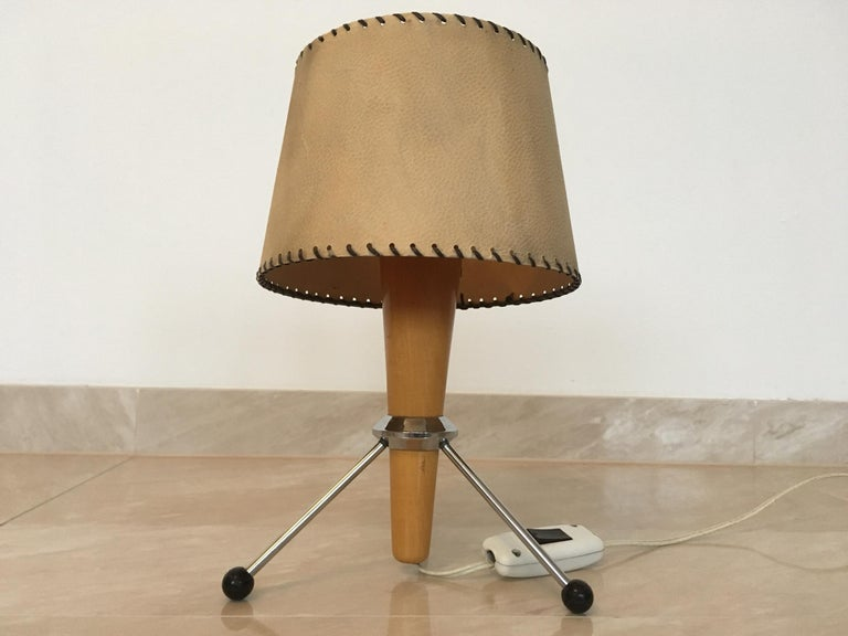 Midcentury Space Age Table Lamp