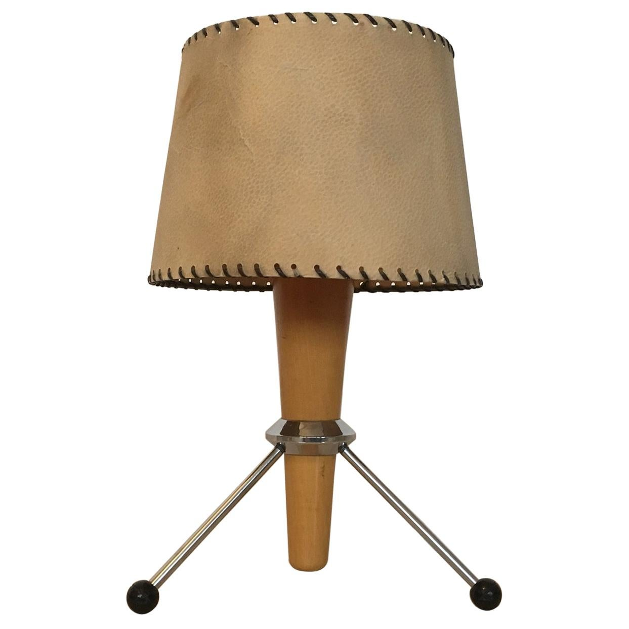 """Midcentury Space Age Table Lamp """"Rocket"""", 1960s"""