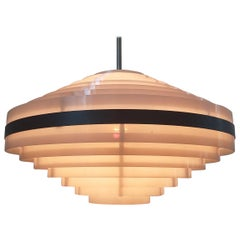 Midcentury Space Age UFO Style Pendant, 1970s / Up to 20 Pieces