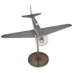 Midcentury Spitfire Fighter Aircraft Model