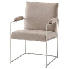 Midcentury Steel Armchair