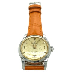 Mid-Century Steel Omega Watch
