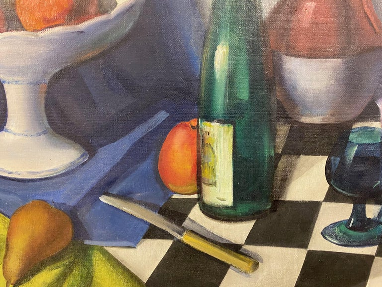 Mid Century Still Life Oil Painting For Sale 2