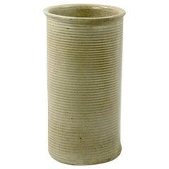 Mid Century Stoneware Pottery Umbrella Cane Stand