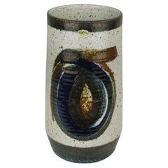 Mid-Century Stoneware Vase by Bertil Lundgren for Rörstrand, 1960s