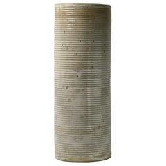 Mid Century Stoneware Vase