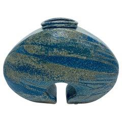 Mid-Century Studio Pottery Vase by Hammet, Signed