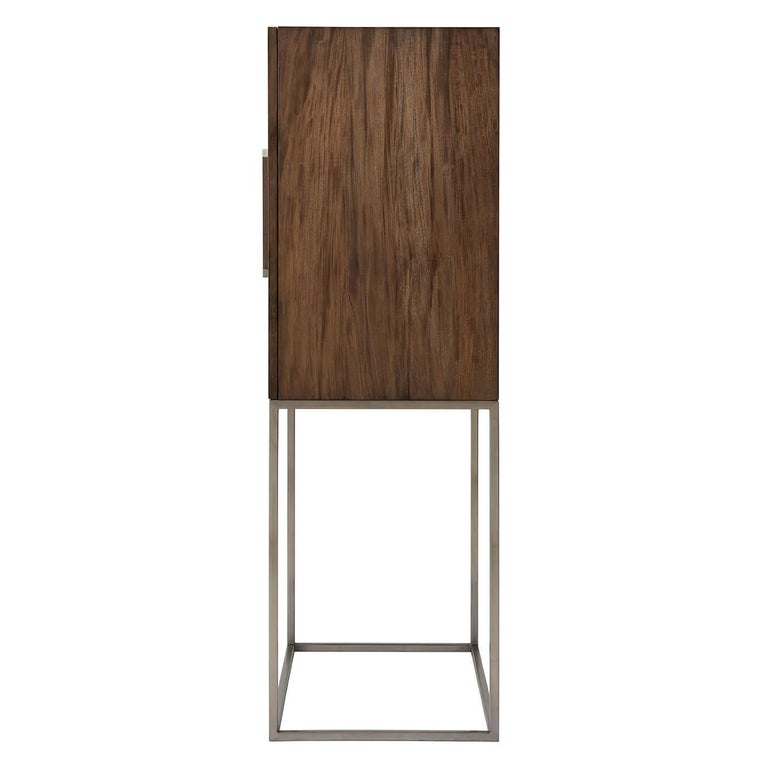 European Midcentury Style Bar Cabinet For Sale