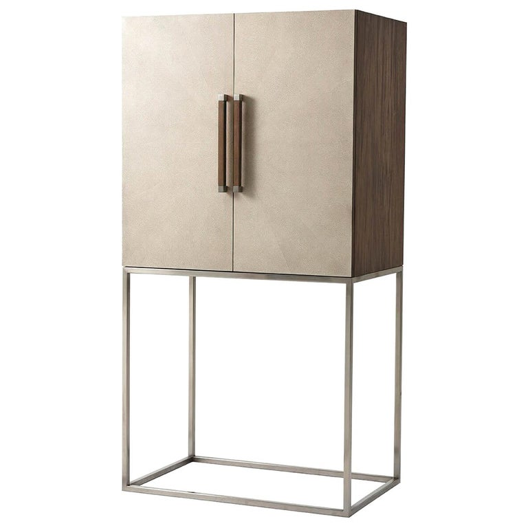 Midcentury Style Bar Cabinet For Sale