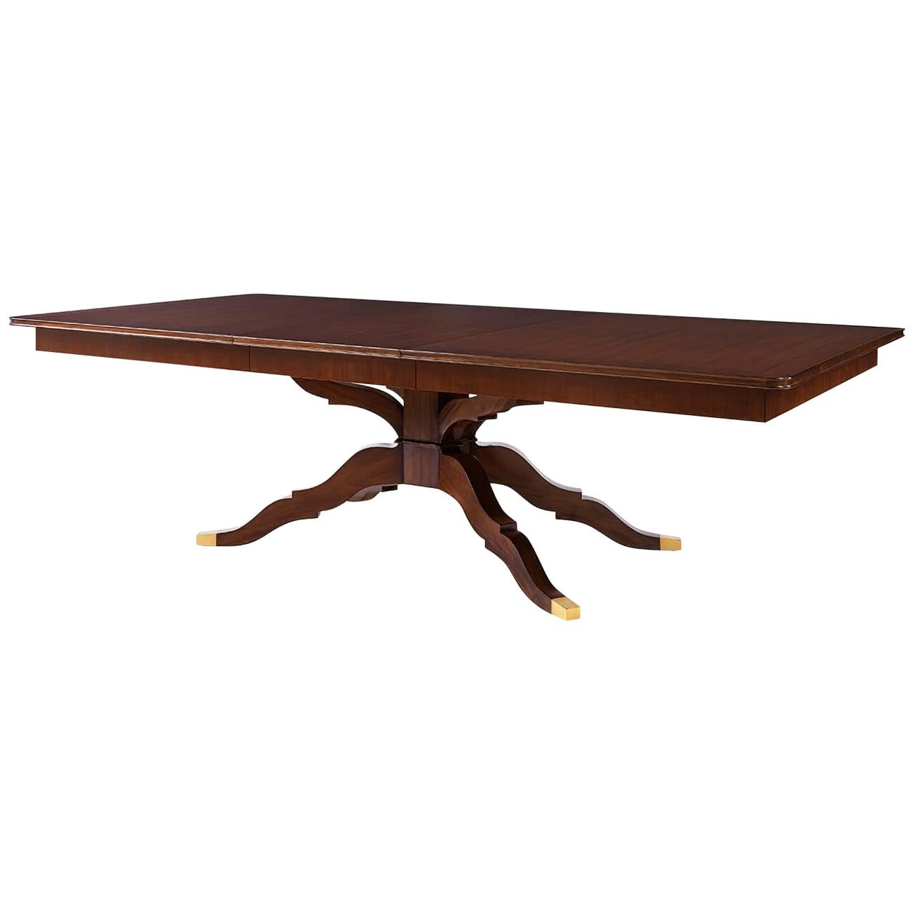 Midcentury Style Extension Dining Table