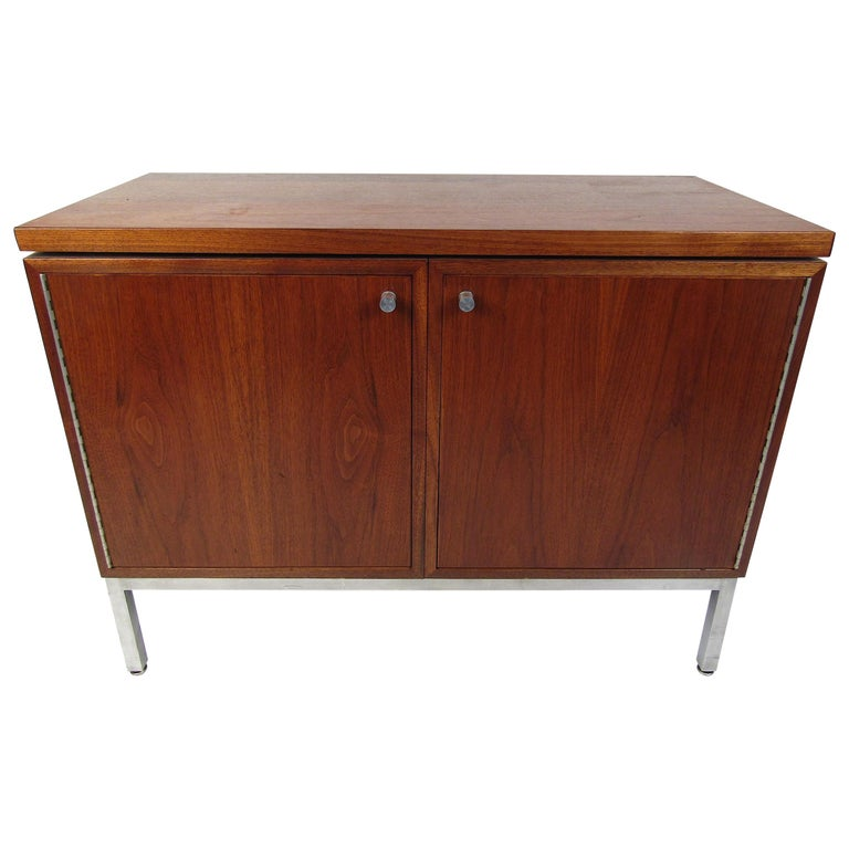 Midcentury Style Storage Cabinet For Sale