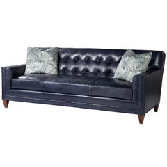 Midcentury Style Tufted Sofa