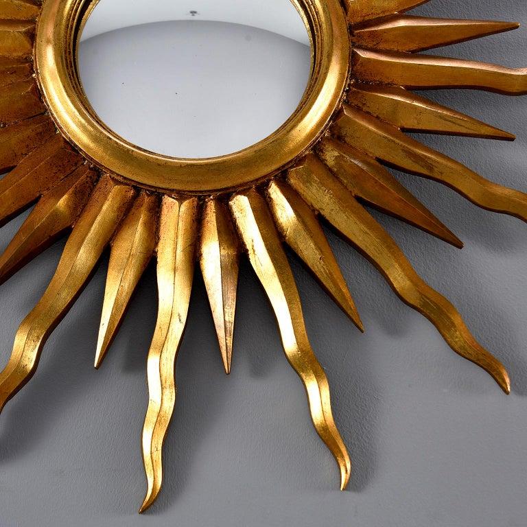 Mid-Century Modern Midcentury Sunburst Mirror For Sale