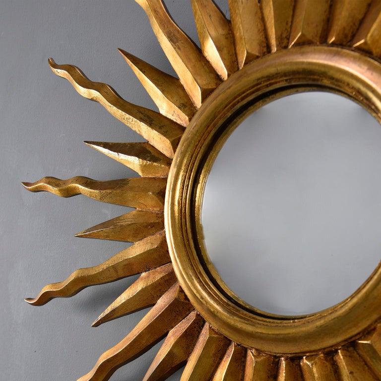20th Century Midcentury Sunburst Mirror For Sale