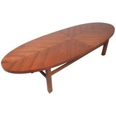 Midcentury Surfboard Coffee Table
