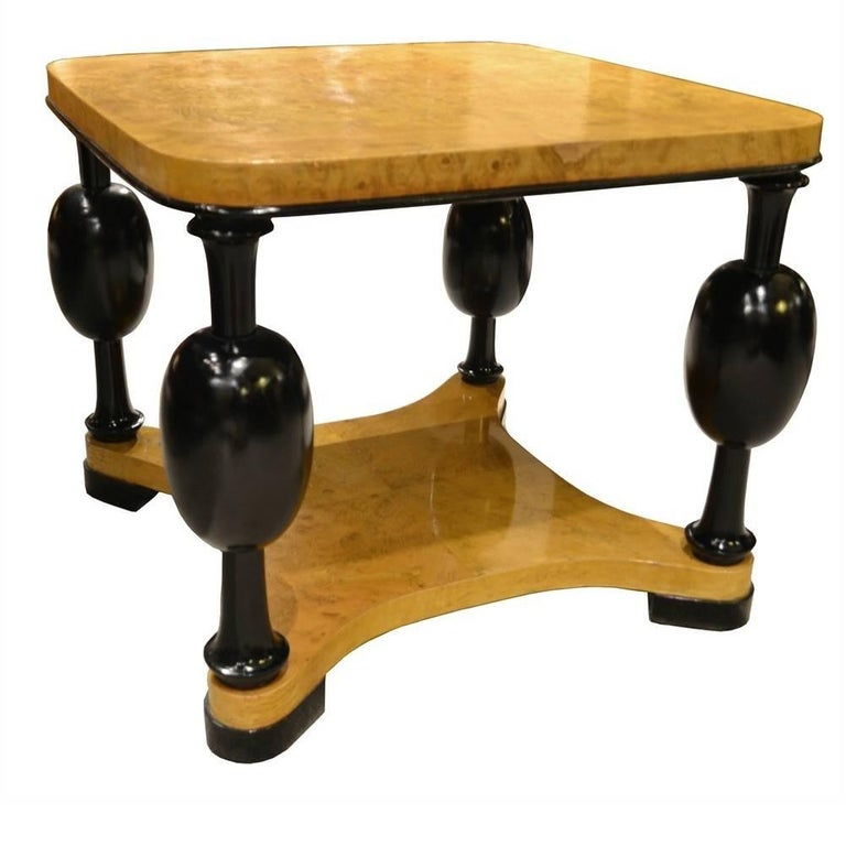 Midcentury Swedish Biedermeier Side Table