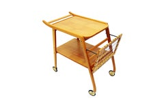 Mid-Century Swedish Breakfast Cart