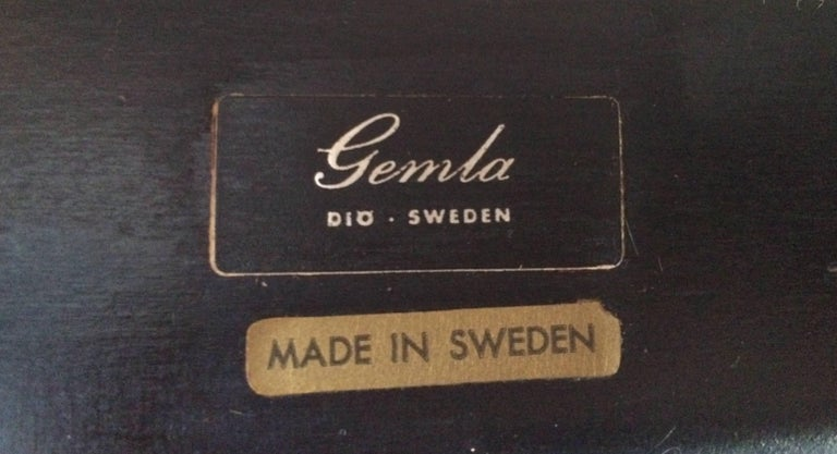 Swedish Mid-Century Modern chair by Gemla Diö For Sale 8