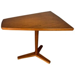 Mid-Century Swedish Modern Teak Side Table / End Table by DUX, circa 1960s