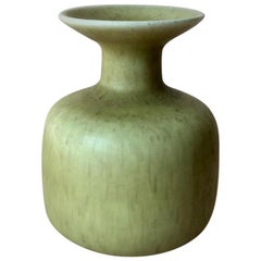 Midcentury Swedish Small Ceramic Vase by Gunnar Nylund for Rorstrand