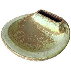 Midcentury Swedish Stoneware Shell Ashtray by Gunnar Nylund for Rorstrand