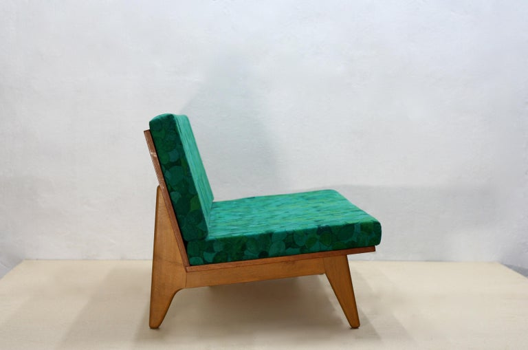 Midcentury Swedish Teak and Beechwood Sofa or Daybed by Gustaf Hiort Af Ornäs 3