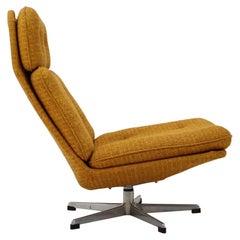 Mid-Century Swivel Chair/ UP, Závody, 1970's