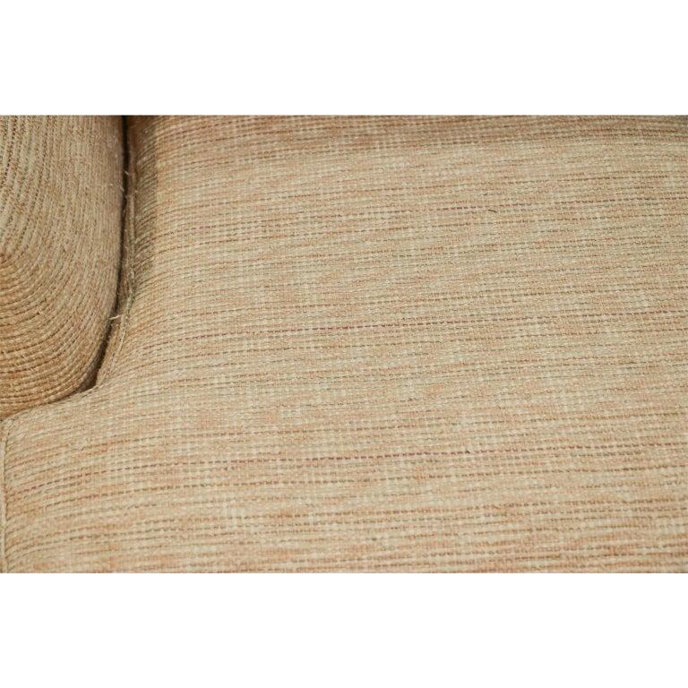 Midcentury Swivel Tub Lounge Chair Milo Baughman Style For Sale 3
