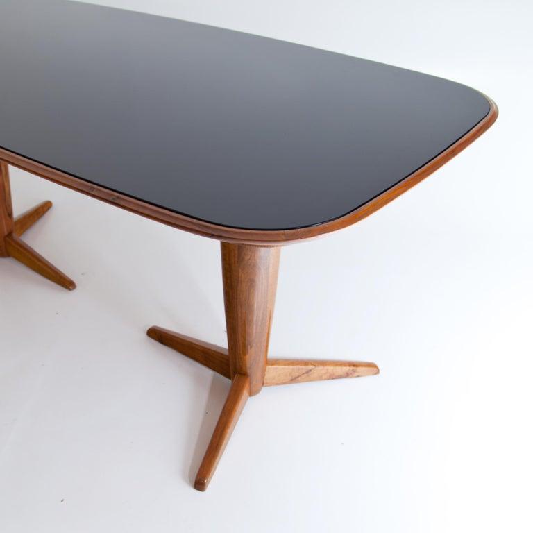 Mid-Century Modern Midcentury Table Attributed to Osvaldo Borsani, Italy, 1950s For Sale