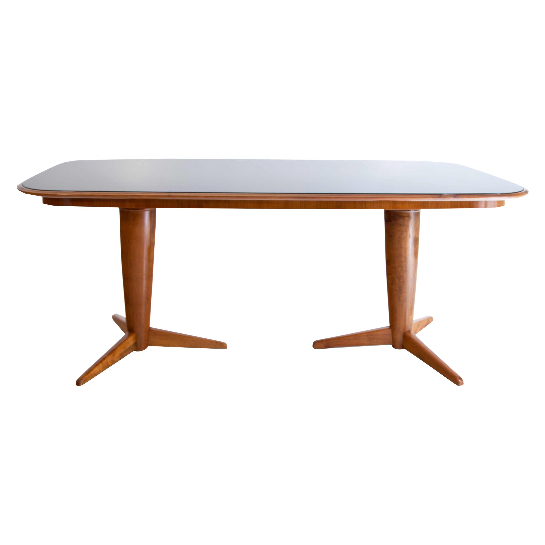 Midcentury Table Attributed to Osvaldo Borsani, Italy, 1950s