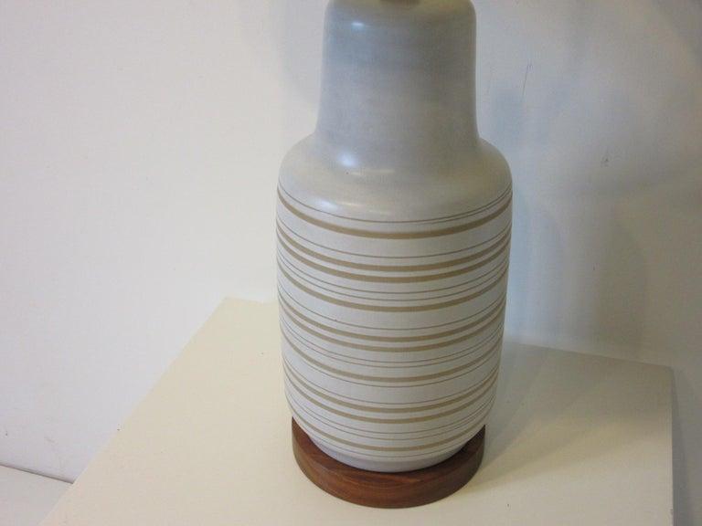 American Midcentury Table Lamp by Gordon & Jane Martz for Marshall Studios For Sale