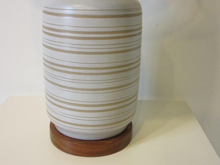 20th Century Midcentury Table Lamp by Gordon & Jane Martz for Marshall Studios For Sale