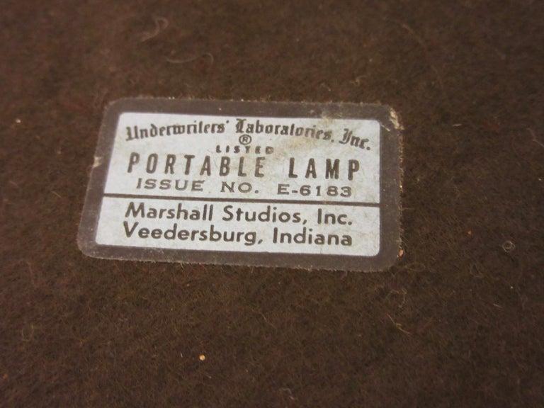 Midcentury Table Lamp by Gordon & Jane Martz for Marshall Studios For Sale 1