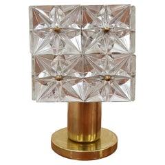 Mid-Century Table Lamp by Kamenicky Senov, Preciosa, 1960's