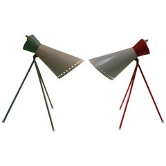 Mid-Century Table Lamp Designed by Josef Hůrka for Napako, 1958