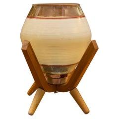 Mid Century Table Lamp from Drevo Humpolec, Czechoslovakia, 1960´s