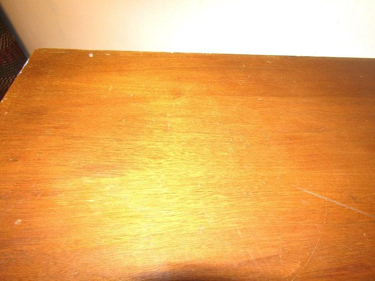 Midcentury Tall Dresser in Walnut For Sale 5