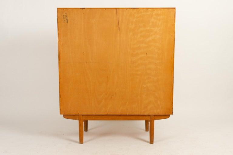 Midcentury Teak and Oak Secretaire by Børge Mogensen 1960s For Sale 13