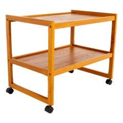 Mid Century Teak Bar Cart
