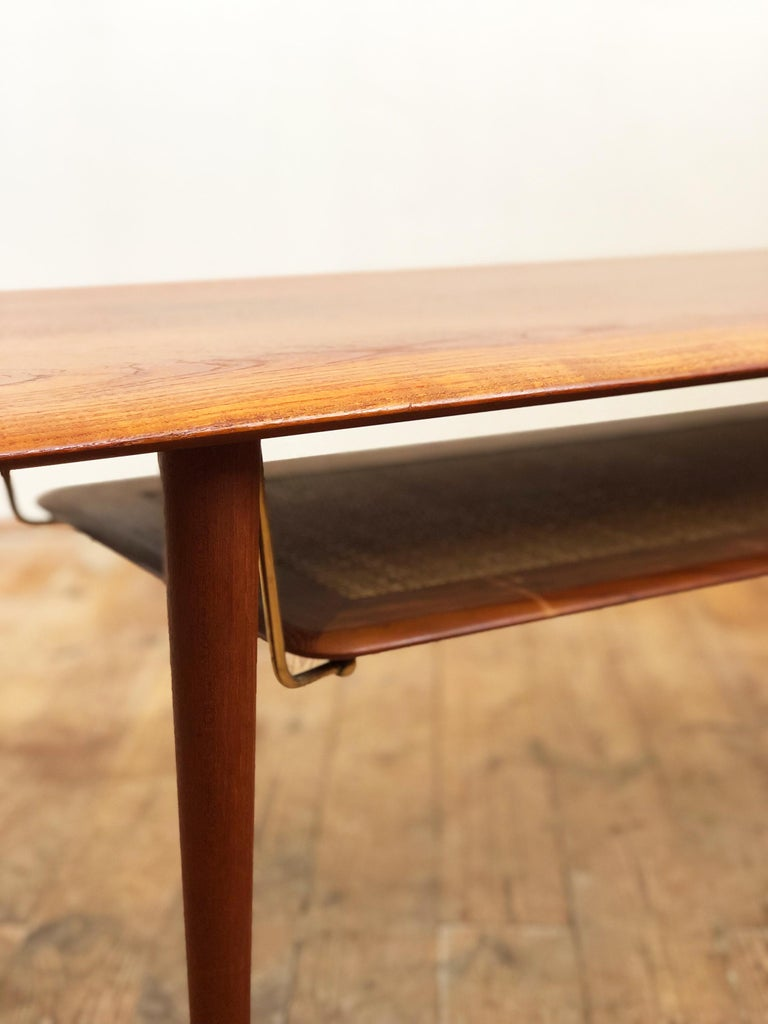 Midcentury Teak Coffee Table by Peter Hvidt & Orla Mølgaard Nielsen For Sale 2