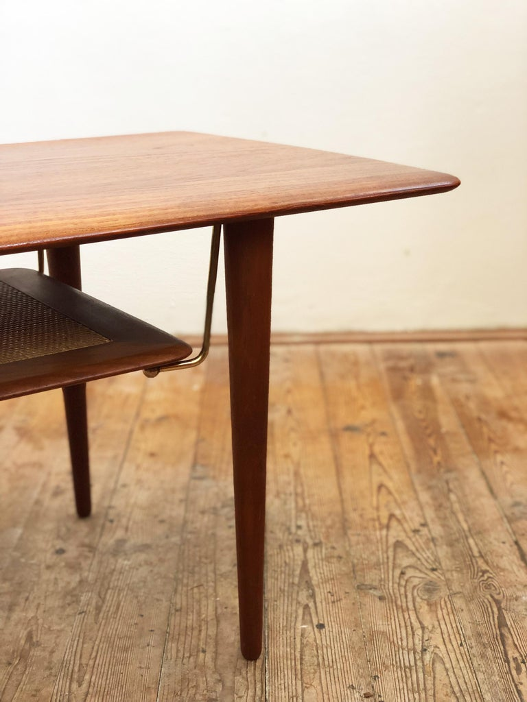 Midcentury Teak Coffee Table by Peter Hvidt & Orla Mølgaard Nielsen For Sale 3