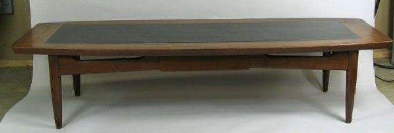Mid-20th Century Mid Century Walnut  Coffee Table For Sale