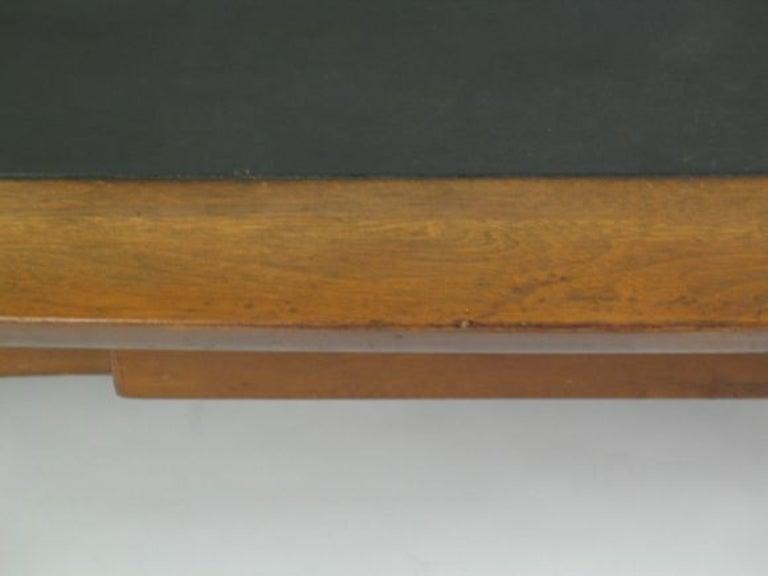 Wood Mid Century Walnut  Coffee Table For Sale