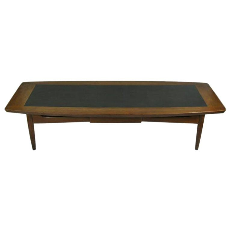 Mid Century Walnut  Coffee Table For Sale