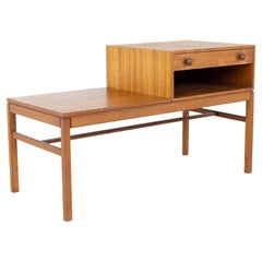 Mid Century Teak Coffee Table with Drawer