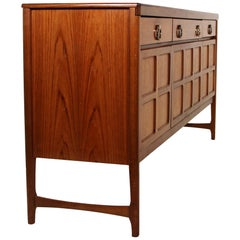 Midcentury Teak Credenza by Nathan Furniture