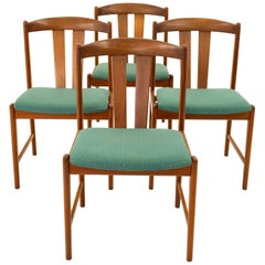 Midcentury Teak Dining Chairs, Set of 4