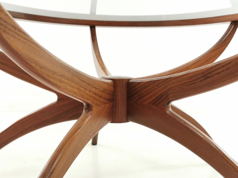 British Midcentury Teak G Plan Astro Spider Coffee Table For Sale